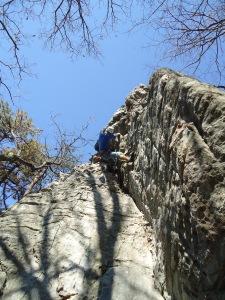 Rock On: Rock Climbing Pilot Mountain