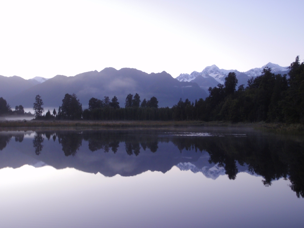 Reflection Lake, Haast, NZ