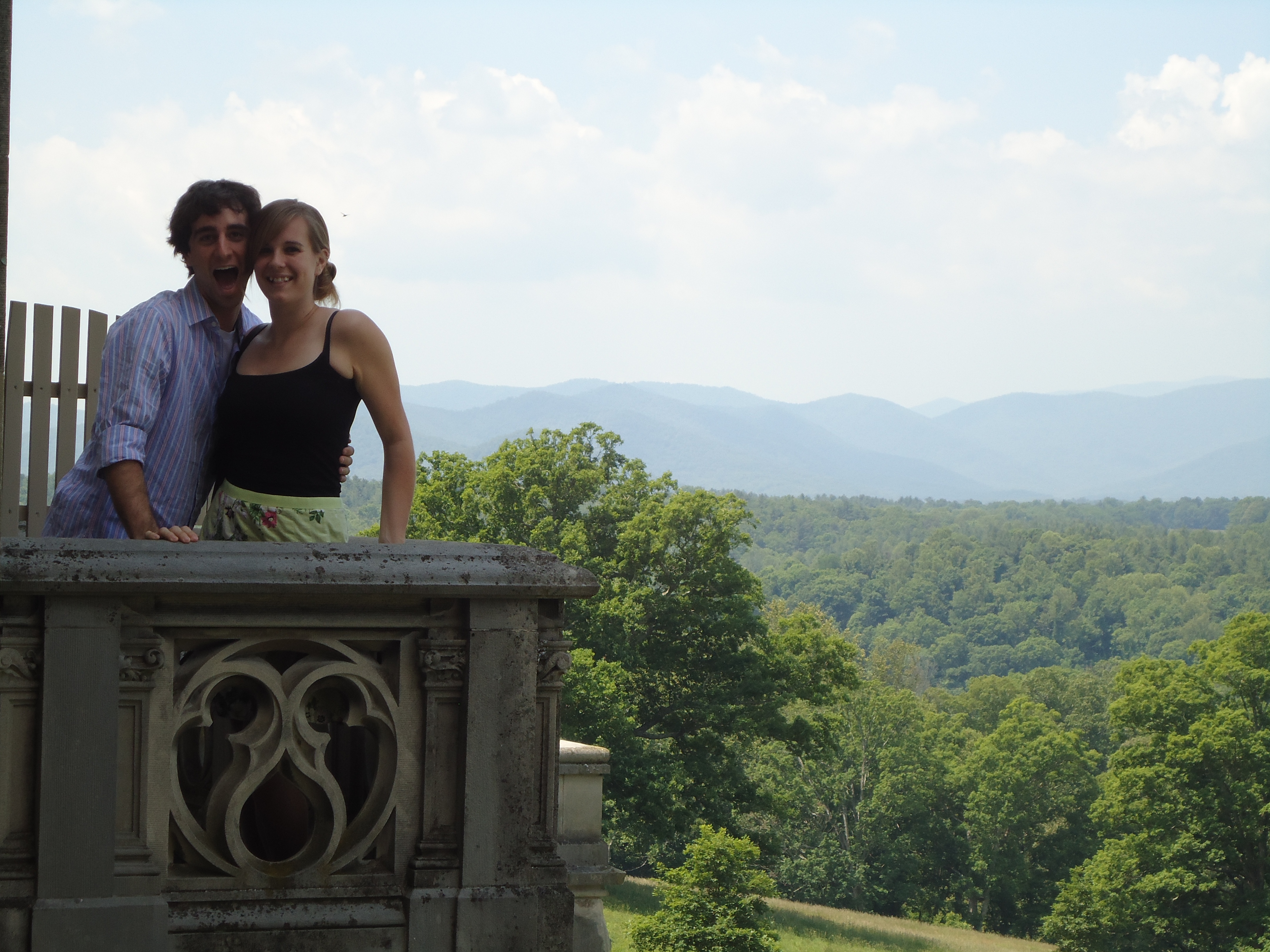 A Cruising Couple, Biltmore, Asheville