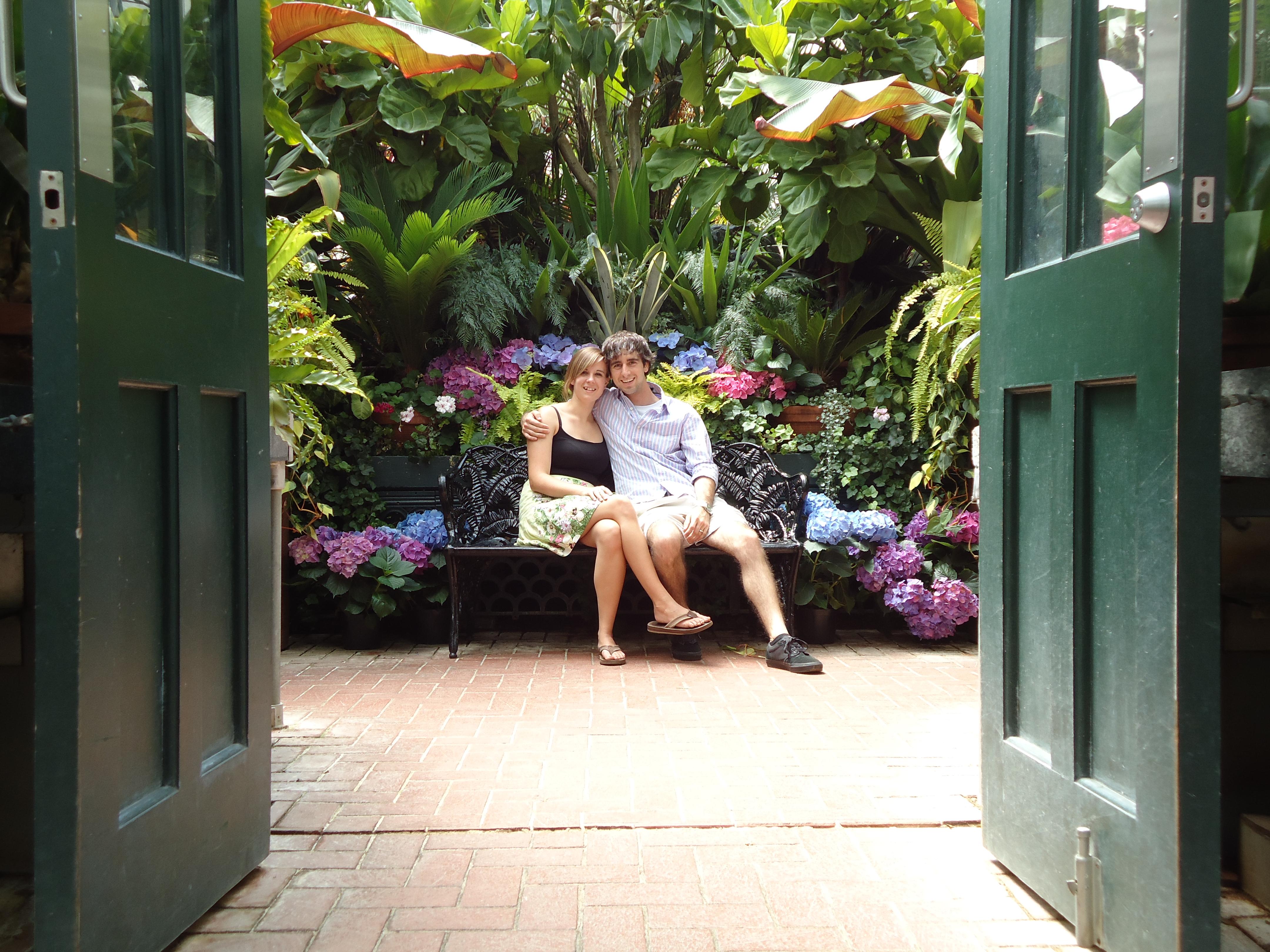 A Cruising Couple, Biltmore Gardens, Asheville