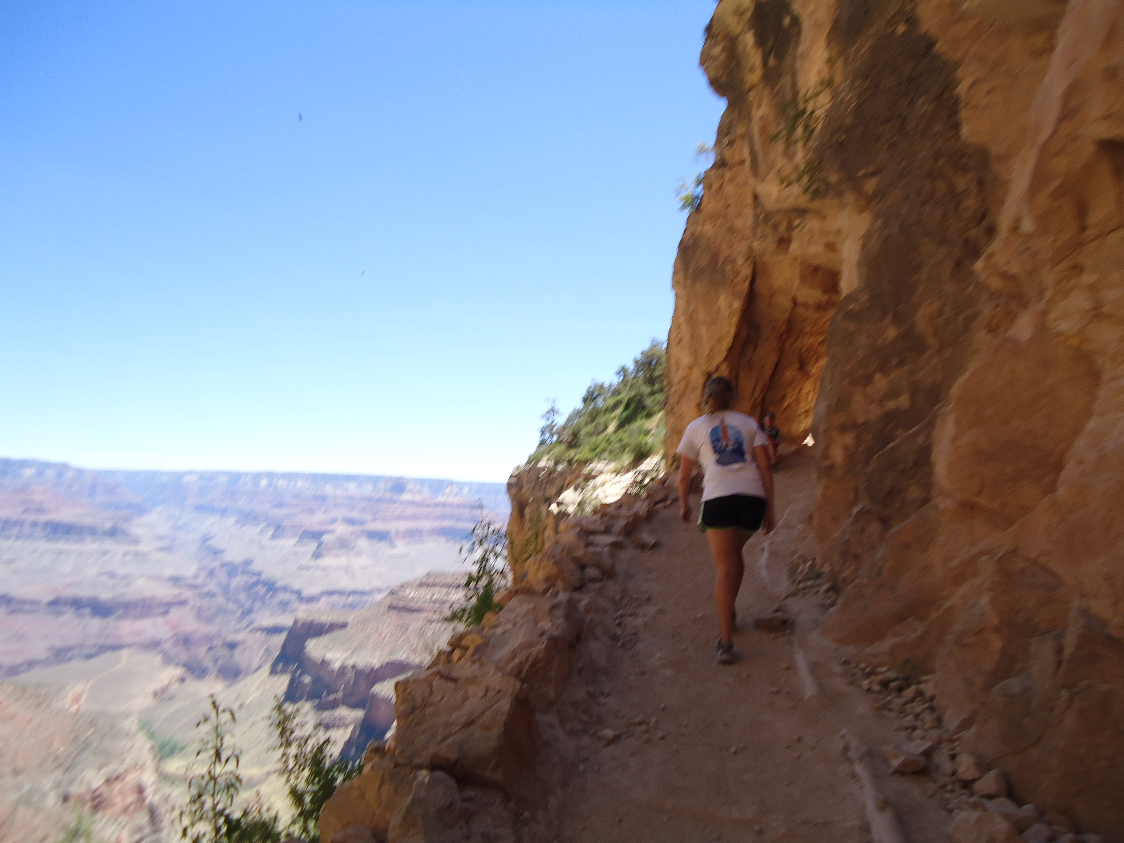 A Cruising Couple, Bright Angel Trail
