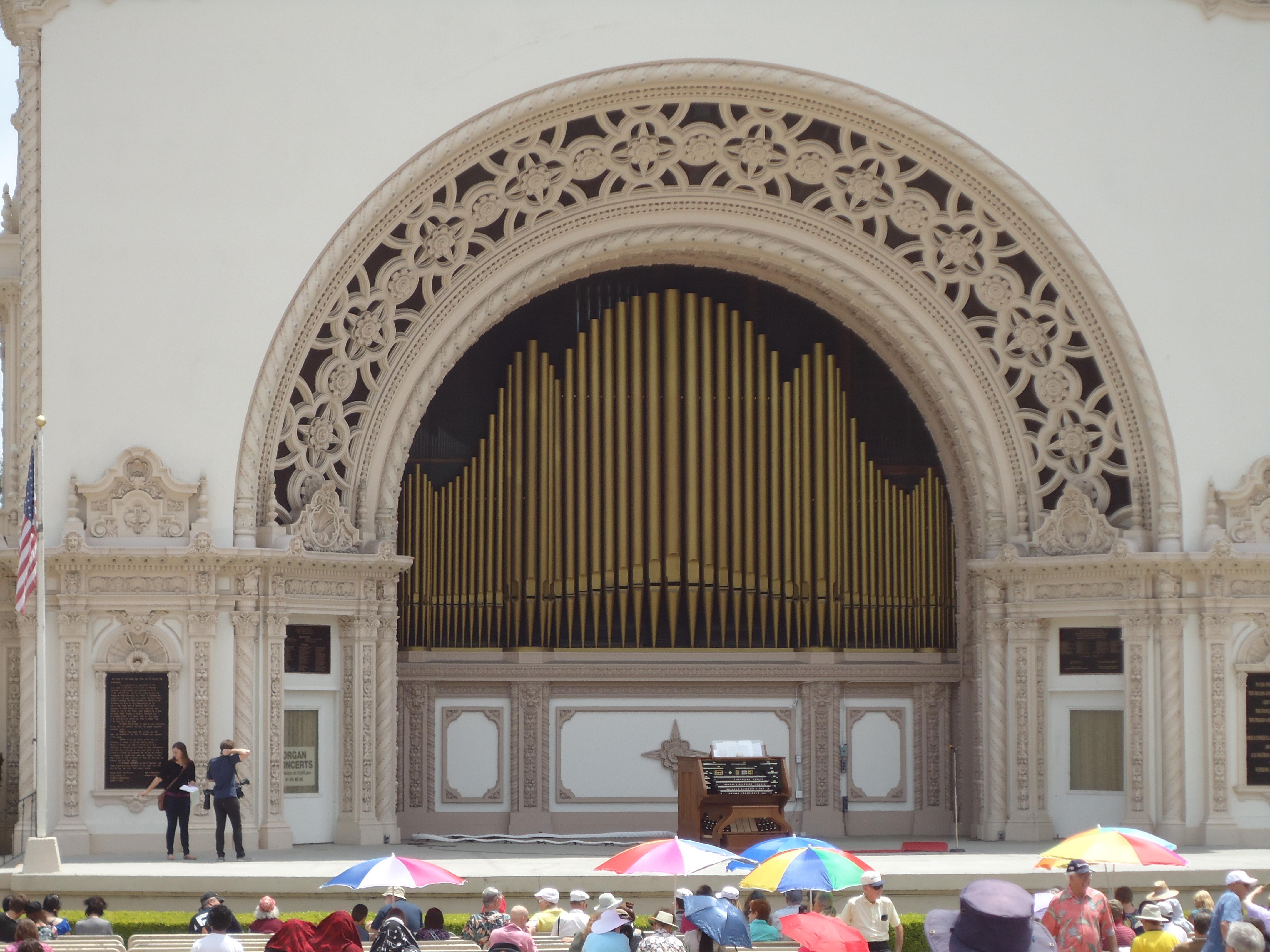 Organ, San Diego