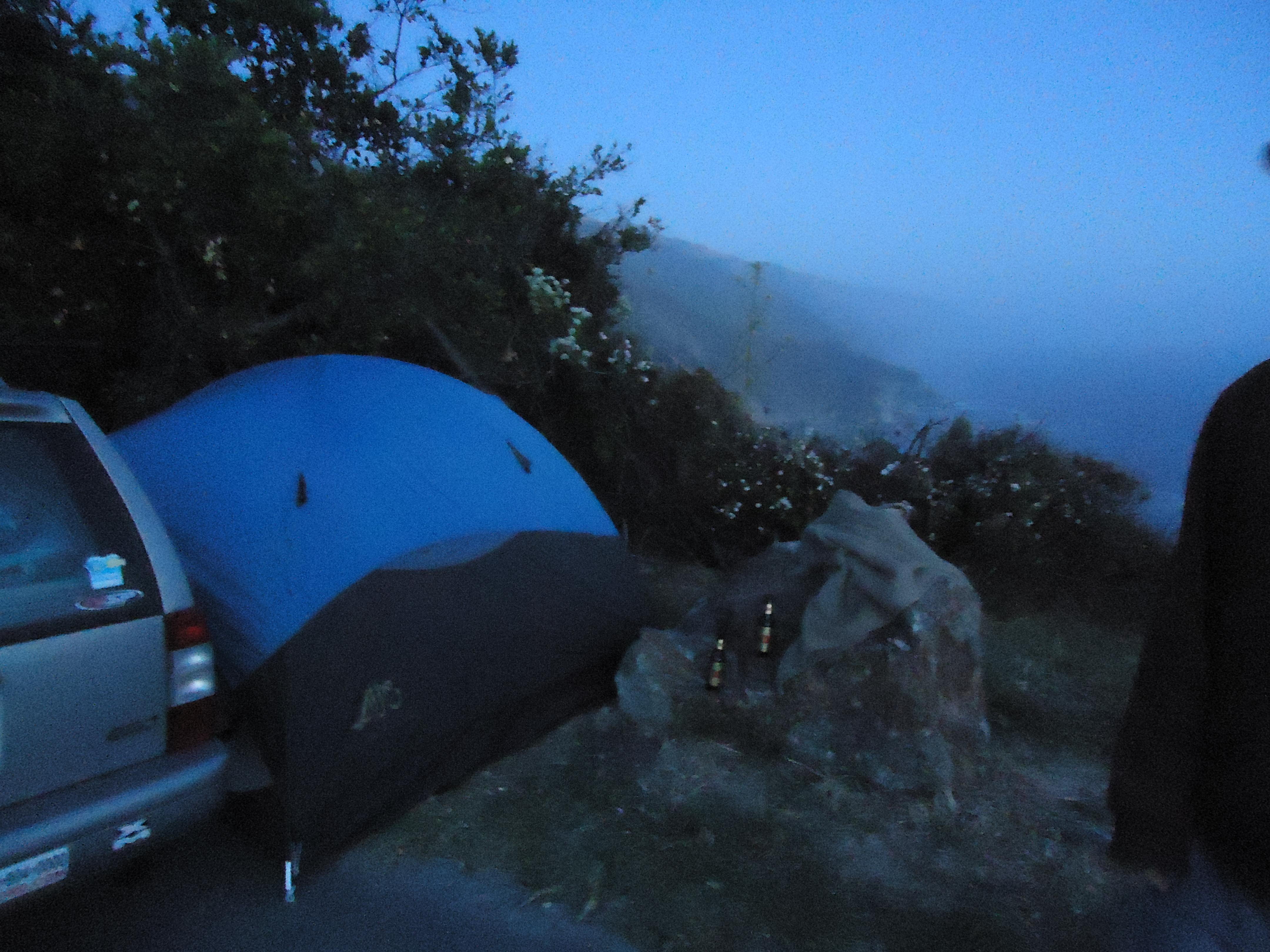 Camping, Road Trip