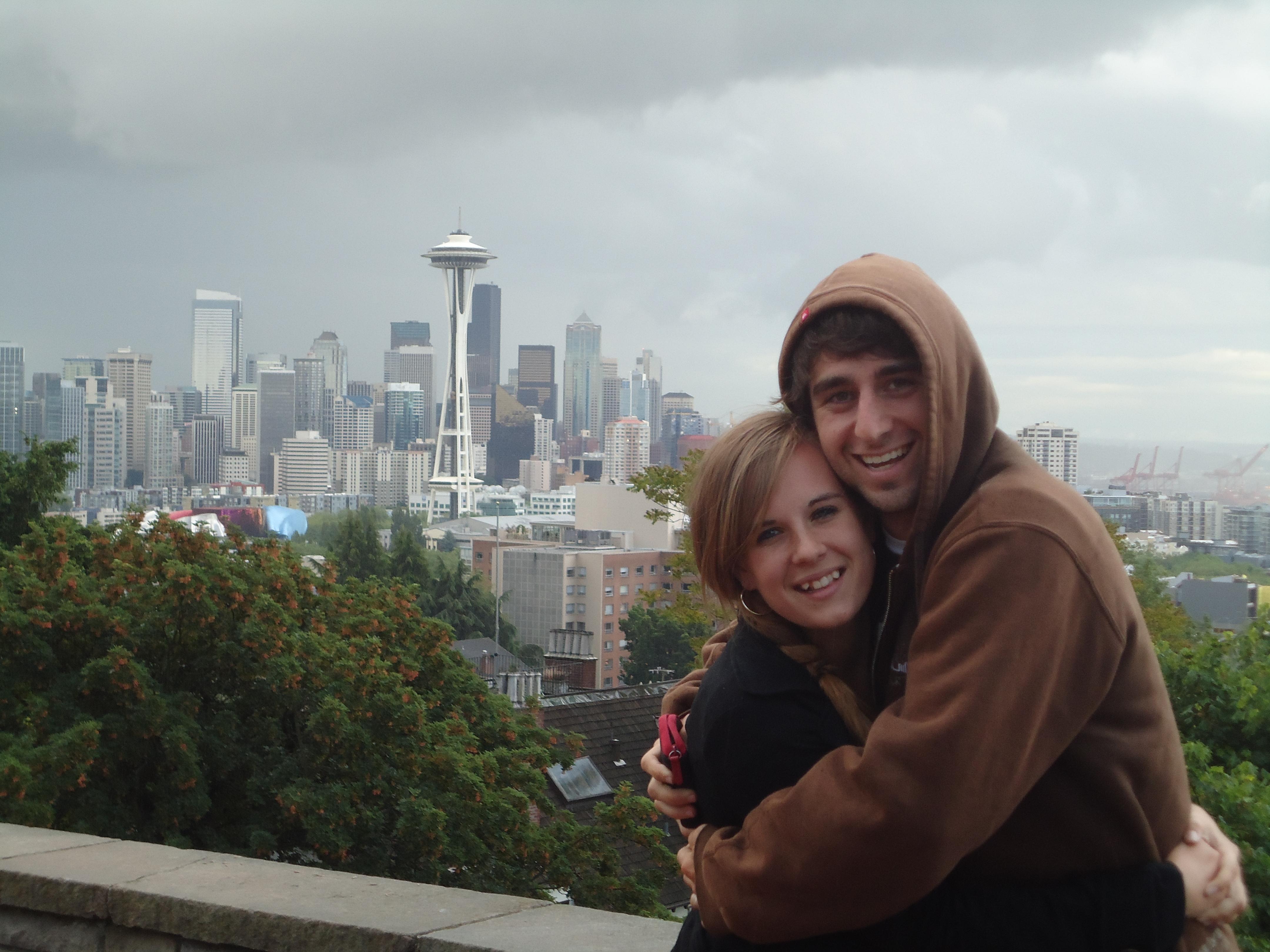 A Cruising Couple, Seattle, Road Trip