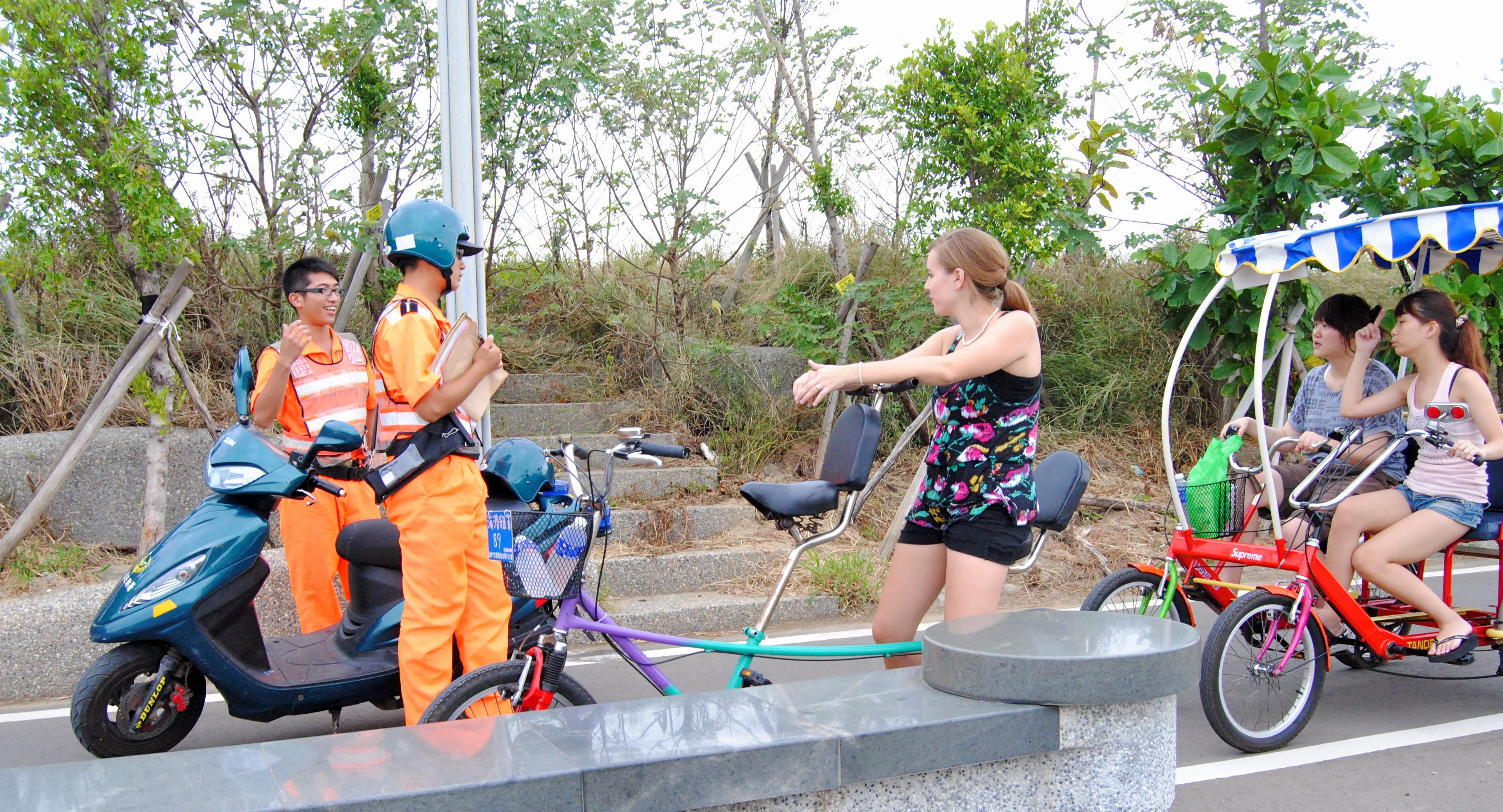 A Cruising Couple, Danger at Nanliao