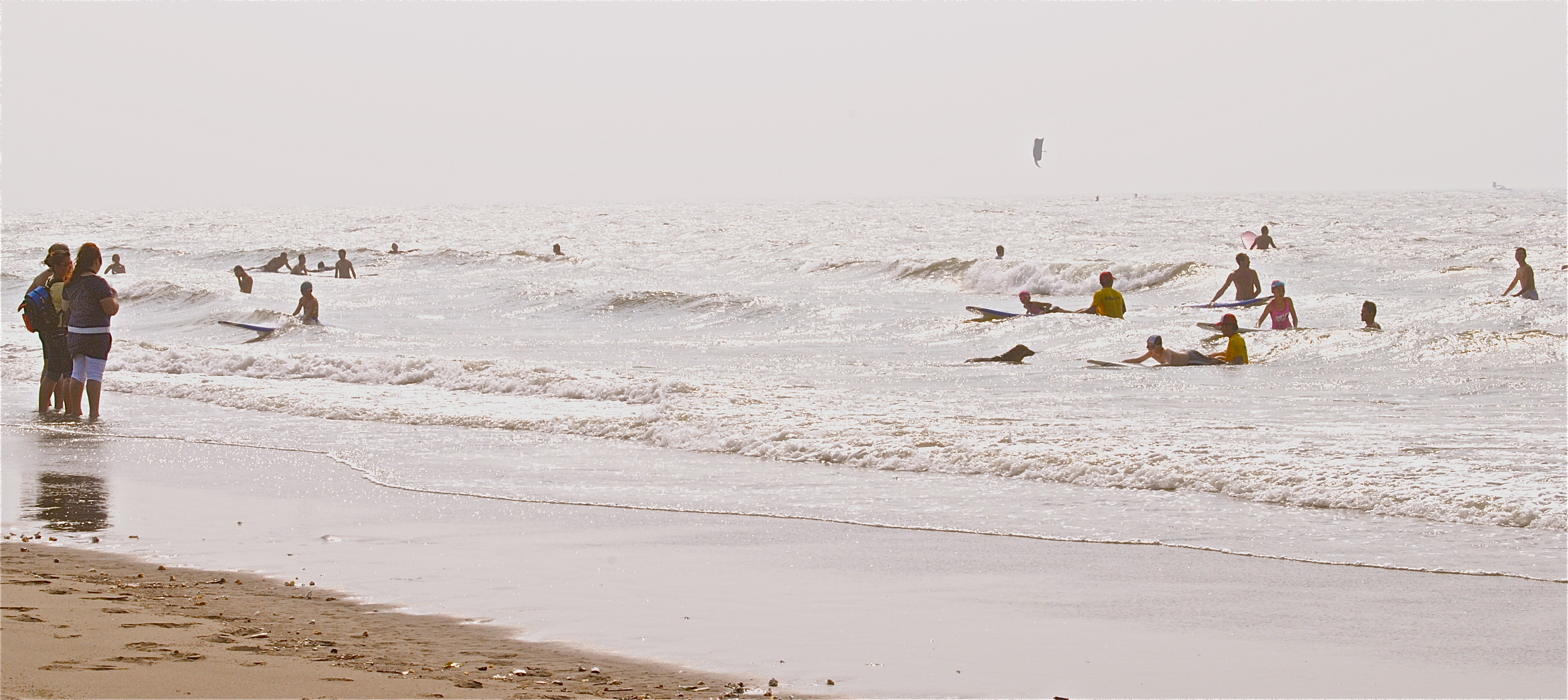 Surfer at Chunan Beach